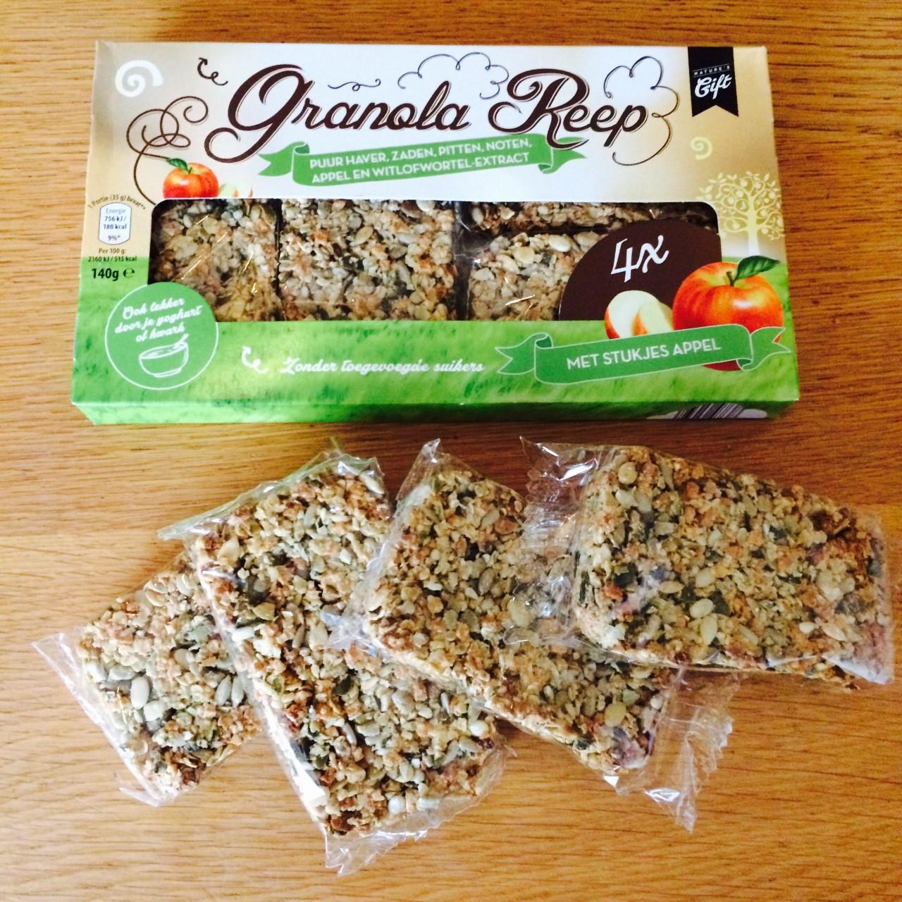 granola reep van de aldi